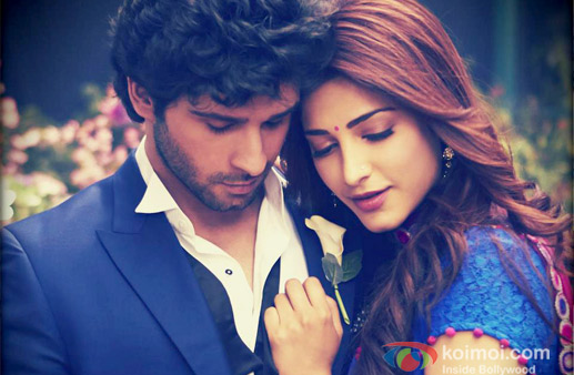 Girish-Kumar-And-Shruti-Haasan-in-Ramaiya-Vastavaiya