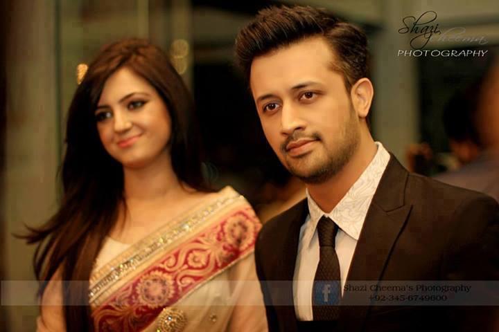 Atif Aslam & Sarah Aslam at 12th Lux Style Awards RedCarpet | Atif ...