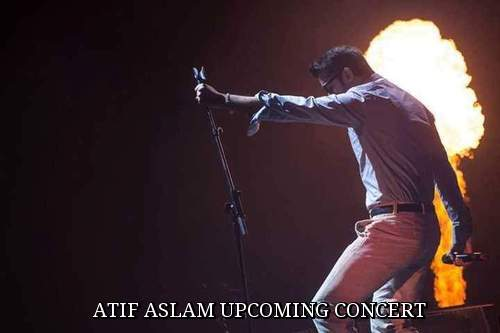 Atif Aslam Upcoming Concerts in 2016 List